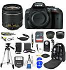 Nikon D5300 18-55mm Ultimate Backpack Bundle+32gb+Flash+ Muc