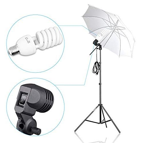 Umbrella Continuous Lighting 8.5x10ft Support with for Photo Portrait Video Photography