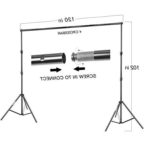 Emart Daylight 8.5x10ft Background Support with for Photo Studio Portrait Photography