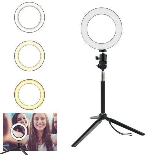 """Dimmable 8"""" LED Light Makeup Live"""