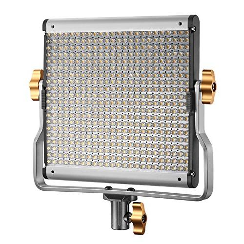 Neewer Dimmable 480 LED Video Light with U Panel with Camera