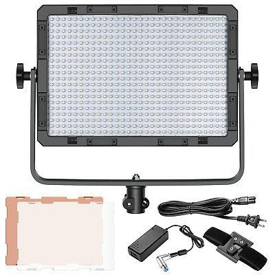 Neewer Dimmable Bi-Color 600 LED Video Light Lamp Kit for St