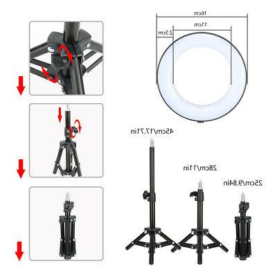 Dimmable Ring Light Stand for Makeup Selfie