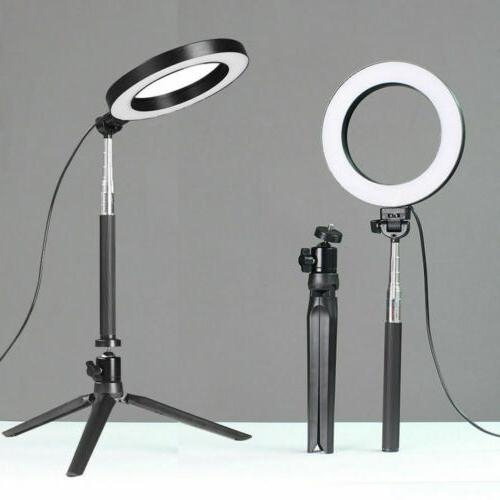 Dimmable LED Ring Makeup Live Fill Light