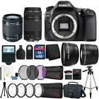 Canon EOS 80D 24.2MP DSLR Camera w/ 18-55mm and 75-300mm Len
