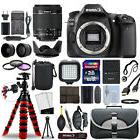 Canon EOS 80D DSLR Camera with 18-55mm IS STM Lens + 16GB Me