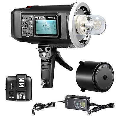 Neewer 600W GN87 HSS Outdoor Flash Strobe Light for Nikon DS