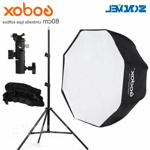 Godox Umbrella Softbox Price In Pakistan: Godox 80cm Octagon Honeycomb Grid Umbrella Softbox+Light