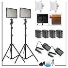 Aputure 2x AL-528C CRI95+ LED Video Light Kit +2x Light Stan