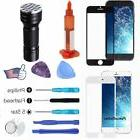 For iPhone 6S 6 Plus Outer Screen Glass Lens+Tools Kit+Glue+