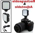 Compact LED Light Kit With Power Set For Canon EOS Rebel T7i