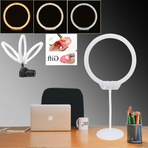 ZOMEI LED Ring Light Tabletop Dimmable Makeup lighting Cosme
