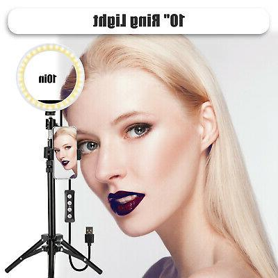 LED Stand Dimmable LED Kit Makeup Live Phone