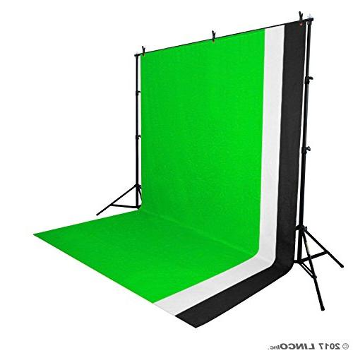 Linco Photo Studio Light Kit - Including Backdrops