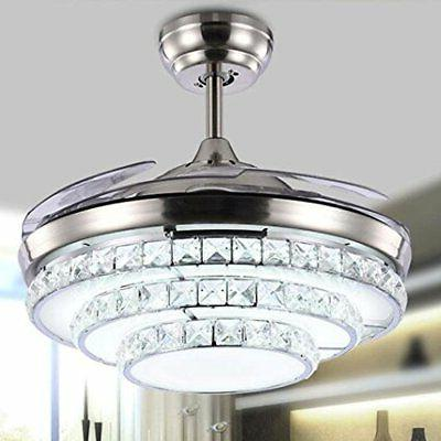 42'' Ceiling Kit Remote Control Chandelier