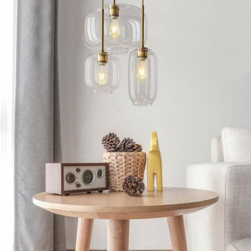 Mid Modern Glass Jar Light Light Kit