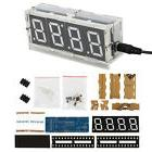 New 4-digit LED Electronic Clock DIY Kit Light Control with