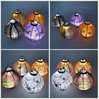 Paper Lanterns With Lights Halloween Party Decorations For A