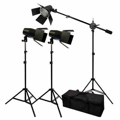 Photo Studio Photography Film Equipment Shooting Set Lightin