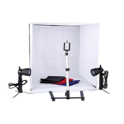 new lighting in a box photo studio