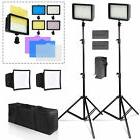 Photo Studio 2pack 216 LED Dimmable Photo Camera Camcorder V