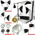 Photo Studio Octagonal Softbox Continuous Lighting Kit with
