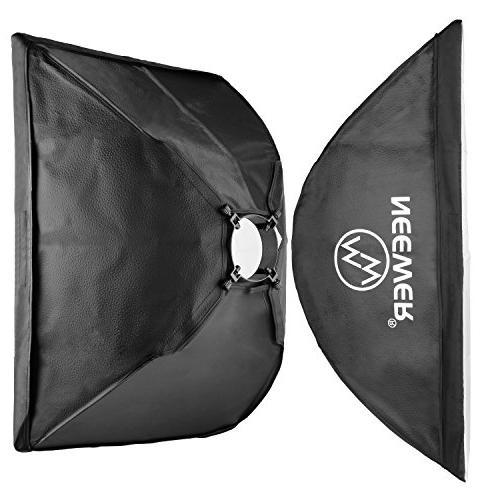 Neewer Flash Softbox Lighting Kit:300W Stands,Softbox,RT-16 Wireless Trigger,Bag Video and Photography