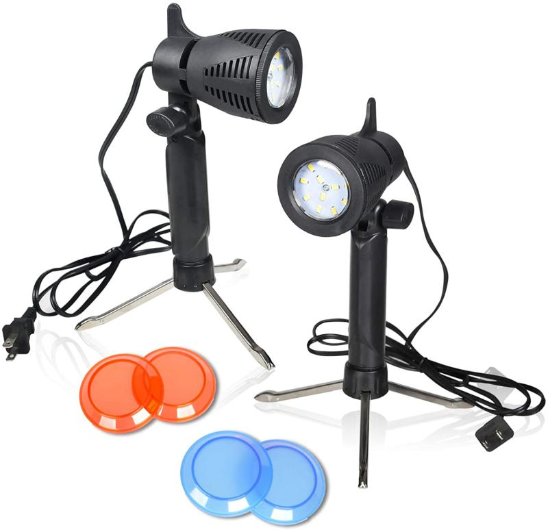 photography led continuous light lamp 5500k portable