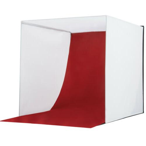 "24"" Photo Studio Light Backdrop Cube Kit In A"