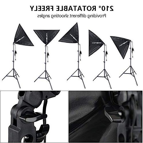 Photography Kit, 3M/8.5ft x Background Support System 800W 5500K Umbrella with for Shooting