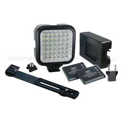 Vidpro Professional Photo/Video 36-LED Light Kit+Battery, Ch