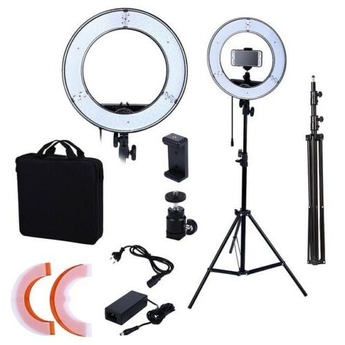 "NEEWER RING LIGHT KIT 18"" 55W DIMMABLE"