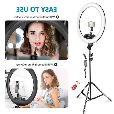 Neewer Ring Light Dimmable Light with Light