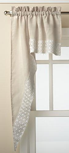 Lorraine Home Fashions Salem 60-inch x 36-inch Tier Curtain