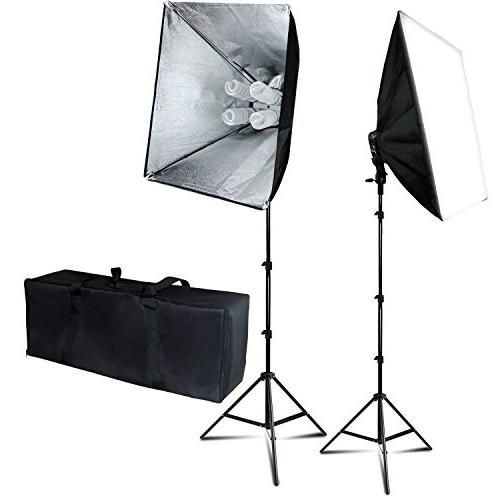 soft photography continuous lighting kit