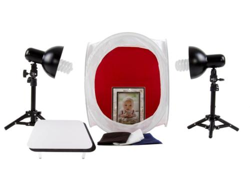Fovitec StudioPRO Product Photography Softbox Table Top Ligh