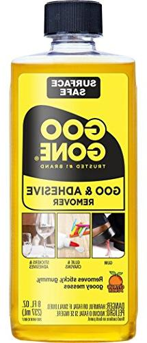 Goo Gone Original Liquid - 8 Ounce - Surface Safe Adhesive R