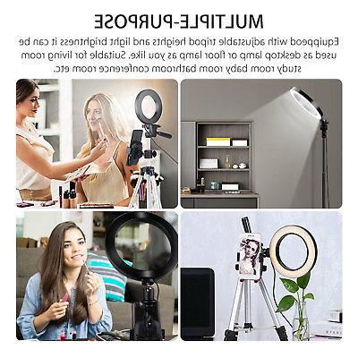 Ring Mini LED Camera Lamp Tripod Stand YouTube Video