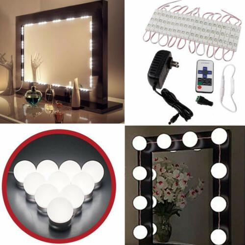 Vanity LED Mirror Dressing Light Kit Makeup Hollywood Dimmab