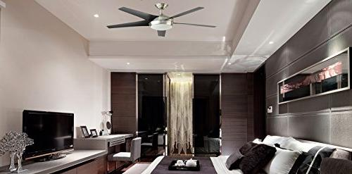 Windward LED Indoor Ceiling Fan with Light Kit Remote Control