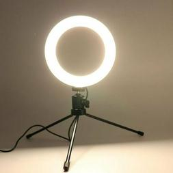 LED Ring Light Lamp Selfie Camera Phone Studio Tripod Stand