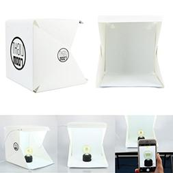 Light Room Portable Folding Photography Box, LED Light Room
