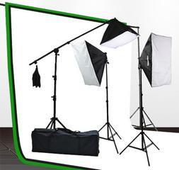 Fancierstudio lighting kit UL9004SB-69BWG 2000 Watt Photo St