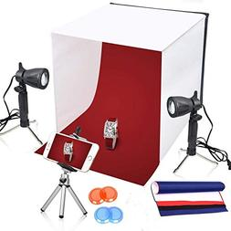 Emart 16 x 16 Inch Lighting Photography Studio Box Kit Table