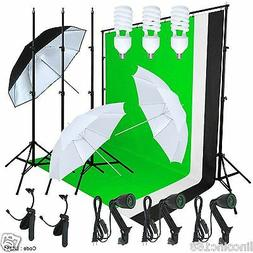 Linco Studio Lighting Photography 3 Muslin Backdrop Light St