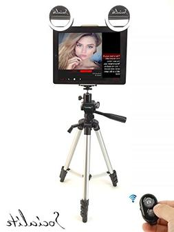 SOCIALITE Mini LED Live Video Photo Fill Ring Light Kit Incl