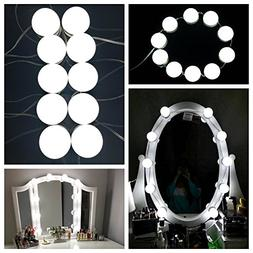 Makeup Mirror Lights,15W Hollywood Style LED Vanity Mirror L
