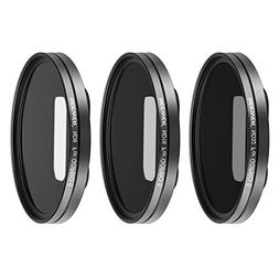 Neewer Multi-coated Lens Filter Kit for GoPro Hero 5,hero 6