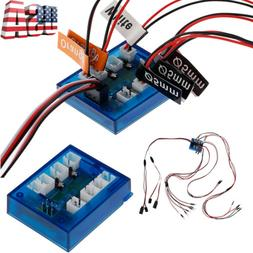 1/10th RC Light Controller Kit Realistic No Solder 12-LED Fo