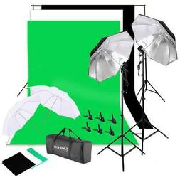 NEW Photo Studio Lighting Photography 2 Backdrop Stand Light